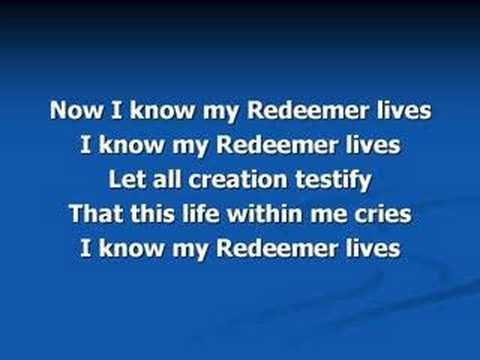 Redeemer (worship video w/ lyrics)