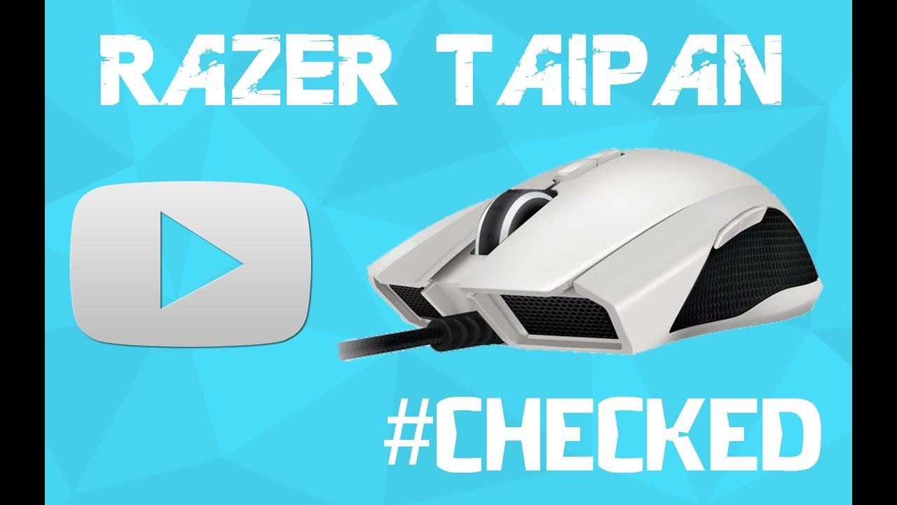 Razer Taipan 2014 1 Checked White