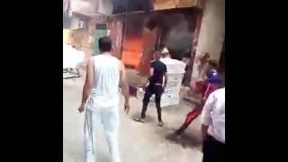 حريق كبير في مخبز عيش فينو قرية دنديط- ميت غمر- دقهليه
