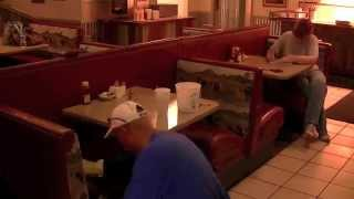 Restaurant Booth Seat Back Repair, Fabric Reupholstery, Time Lapse At Steer Inn Mannford Oklahoma