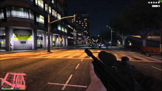 GTA V PC All Weapons First Person Showcase (2015)