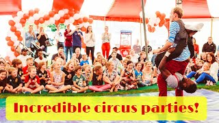 Incredible children's party - Lucas Jet & Friends from Bigtopmania - Premium Children's Entertainers
