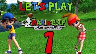 Let's Play Mario Golf Advance Tour [1]: Marion Club Castle Capers