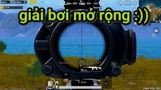 PUBG Mobile - Chế Độ Toàn Sniper | Gặp Giải Bơi Mở Rộng :))