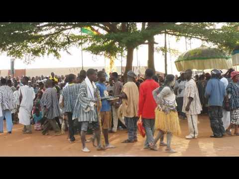 Techiman Ghana Apoo Festival 2015 - Fetish Priests