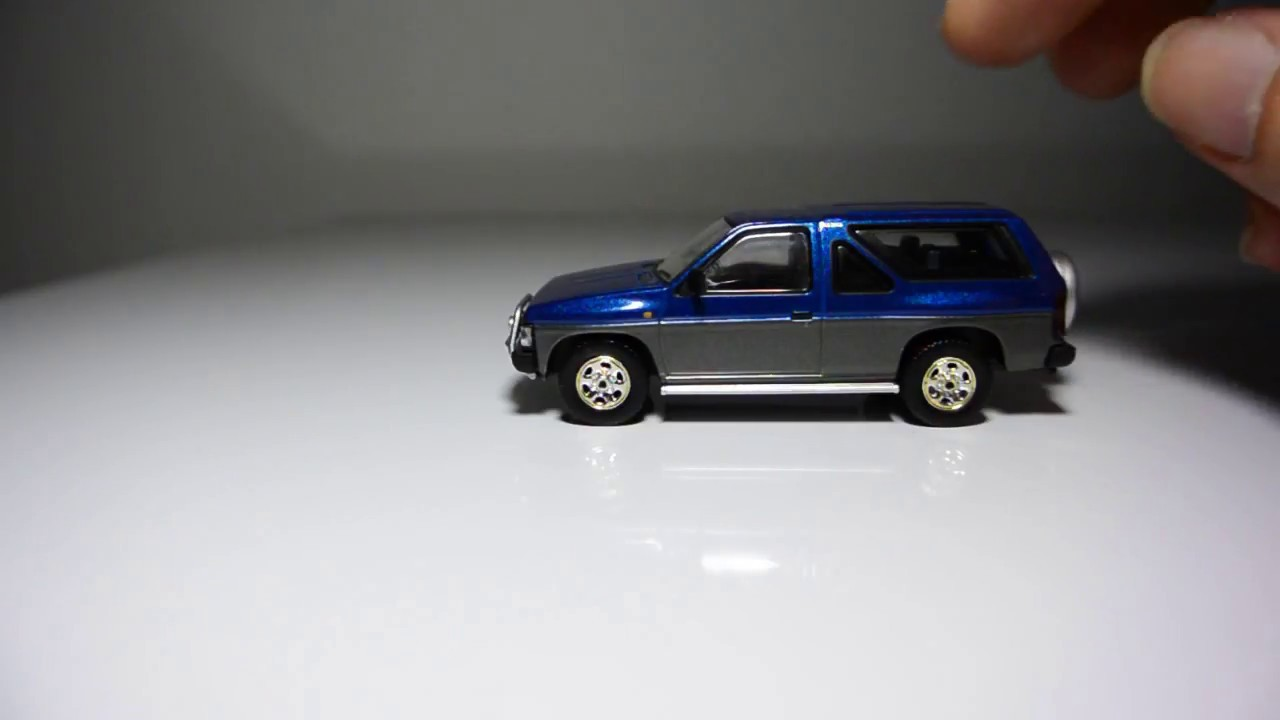 54cb46f0ef8 Tomica Limited Vintage Neo Nissan Terrano - YouTube