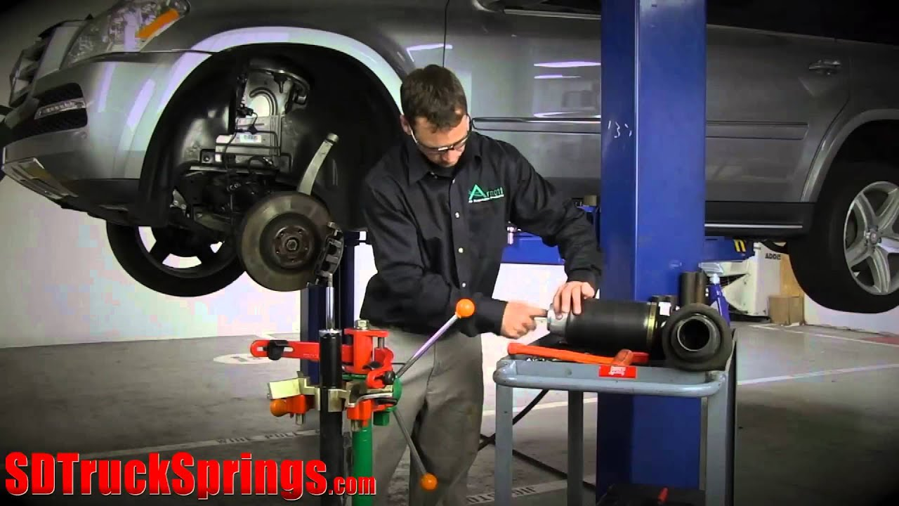 Replace and Installation of Arnott Front Air Spring - Model
