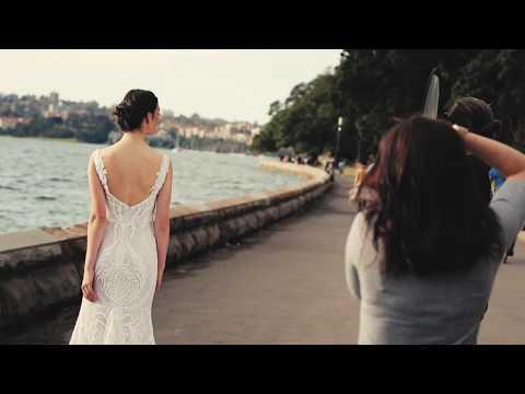 #BTS Modern Wedding: On location for Gowns Magazine at The Royal Botanic Garden Sydney