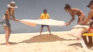 Criss Angel Mindfreak  Beach Trick