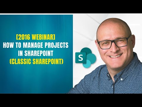 How to manage projects in SharePoint using out of the box features
