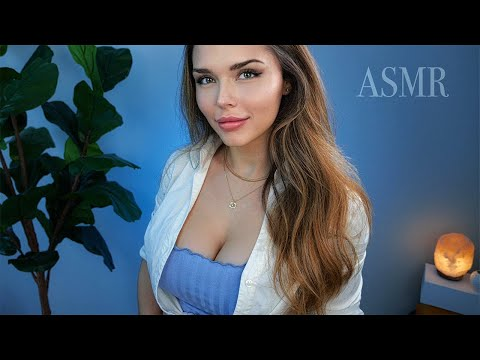 ASMR to give you ALL THE TINGLES [focus on me, hand sounds 🖐, nail tapping 💅, fl