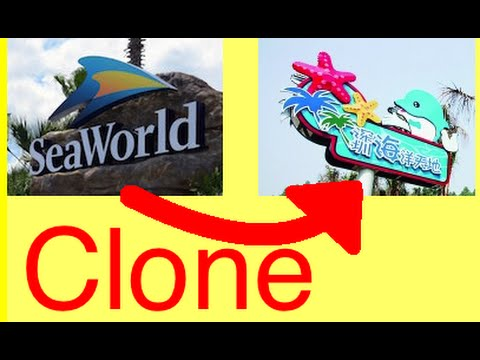 China SeaWorld Clone (Ocean World in Shenzhen Safari Park)