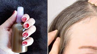 Remedio para cubrir las canas y oscurecer el cabello.