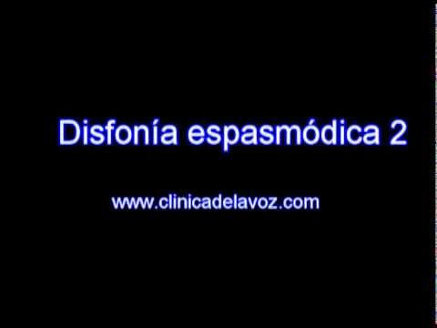 remedios para la disfonia espasmodica