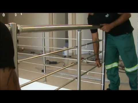 Ezrails - DIY Stainless Steel Balustrade Systems - Installation Video