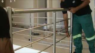 Ezrails - DIY Stainless Steel Balustrade Systems - Installation Video