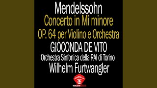 Concerto in Mi minore op 64: 1° Allegro Molto Appassionato