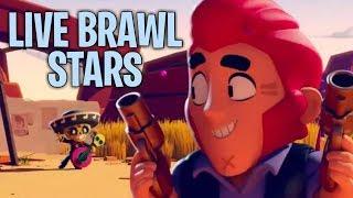 BRAWL STARS- UCZĘ SIĘ W TO GRAĆ (50 PSC KONKURS INFORMACJE W OPISIE)#NAŻYWO - Na żywo
