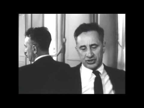 Elia Kazan // interview excerpts