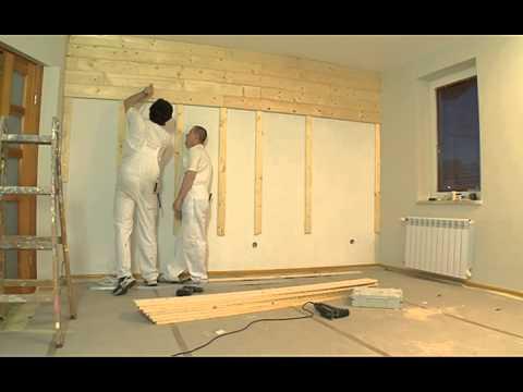 Drewniane Deski Na ścianie