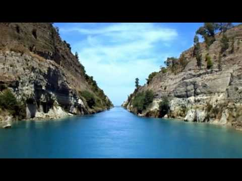 Wonderful Corinth Canal View : Itsmus