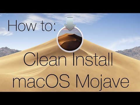 How To: Clean Install MacOS Mojave