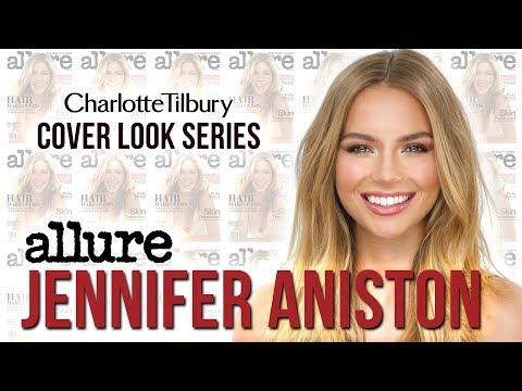Jennifer Aniston Makeup Tutorial: Allure Magazine Cover   Charlotte Tilbury
