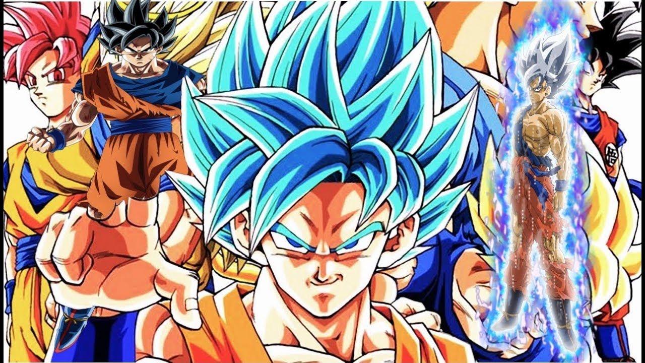 Tout les transformation de goku db dbz dbgt dbs hd - Tout les image de dragon ball z ...