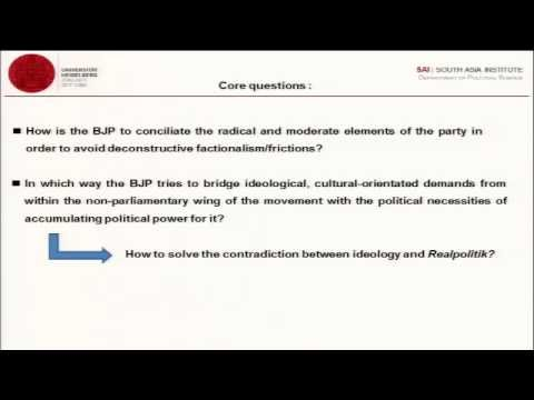 Hindu Nationalism as a Social Movement & Its Lead Up to Contemporary Politics - Part 1 (30 Sep 2014)