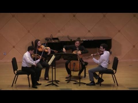Visiting Quartet Residency Culmination; Recital Starts 04/19/2018 at 7:30pm AZ Time