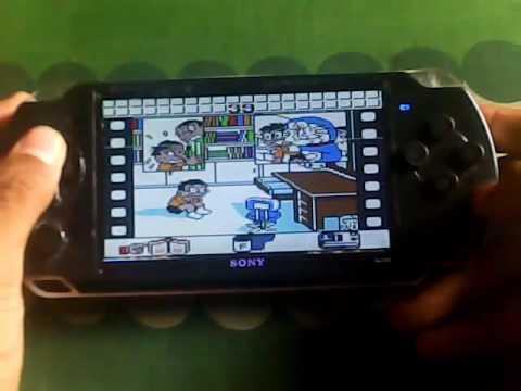 Psp Mp5 Game Boy Doraemon Memories Nobita No Omoide Daibouken Youtube