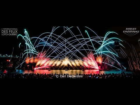 Uptown Funk Jubilee Fireworks L'International des Feux Loto-Québec