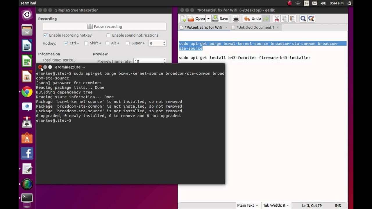 how to add wifi in ubuntu