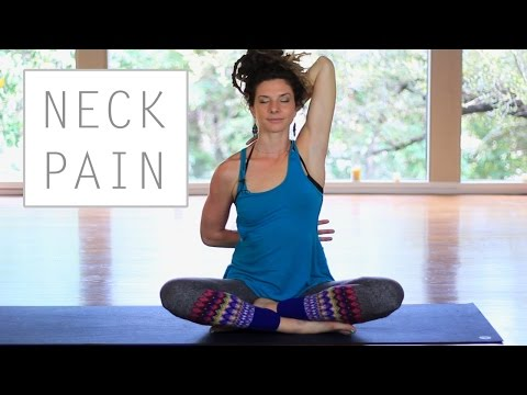 Yoga For Neck and Shoulder Pain - Safe and Easy Stretches for Beginners