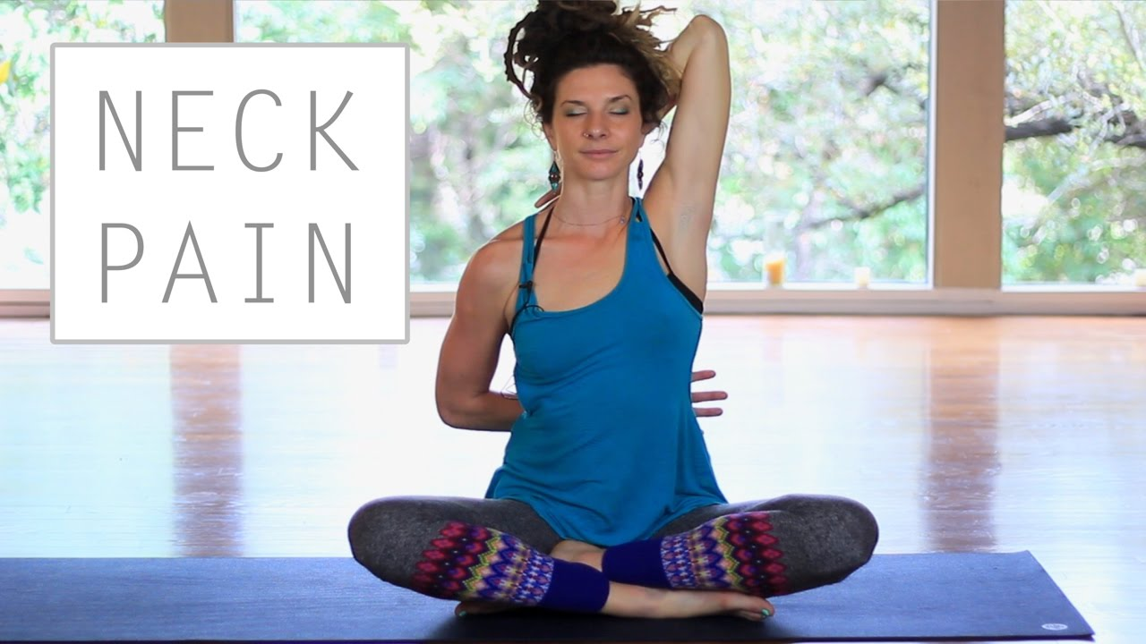 Yoga For Neck and Shoulder Pain - Safe and Easy Stretches ...