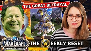 Real Talk About The Blizzard Staff Massacre, And The Special New Loot Of 8.1.5   WoW BfA News