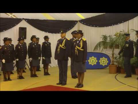 WATCH: SAPS Motherwell medal parade highlights