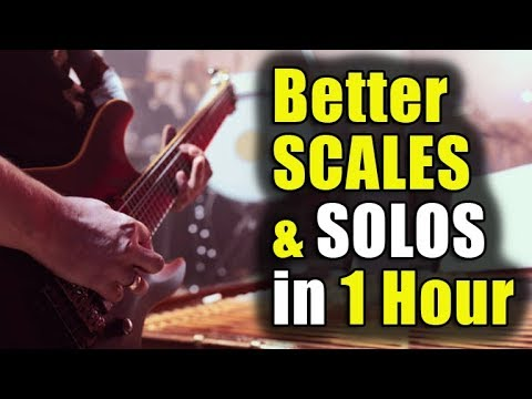 Better Guitar Scales & Solos in 1 Hour (or Less)