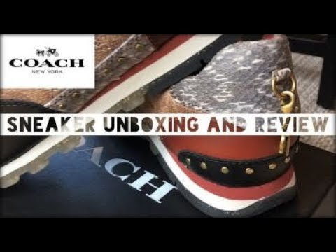 COACH SNEAKERS C118 | Unboxing and Review (Runner Signature, Tan, Natural, & Rust)