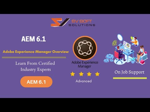 AEM Training Tutorials for Beginners | Adobe Experience Manager Overview