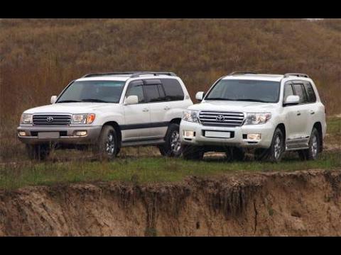 Toyota Land Cruiser 200 vs land cruiser 100