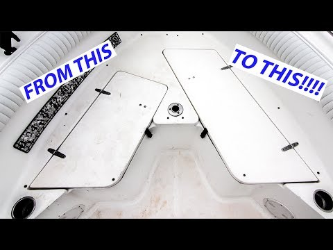 How To Clean Non-Skid Boat Deck The Right Way!!