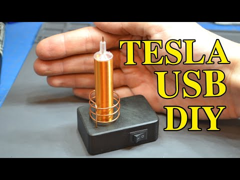 Вопрос: Как сделать катушку Тесла?