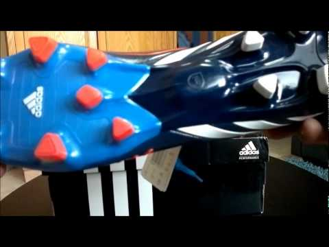 new arrivals 0f0c4 d1e38 Unboxing adidas Predator LZ TRX FG Boots - Blue White Infrared