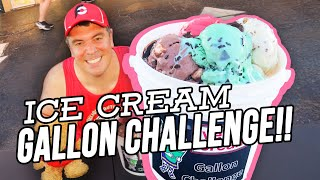 Gallon of Ice Cream Challenge in Hernando, Mississippi!!