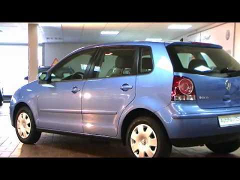 Volkswagen Polo 1 4 Comfortline Tossablau Metallic Video Autohaus Biz Czychy