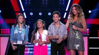 "Martha, Eric y Ariana cantan ""Somebody that I used to know"""