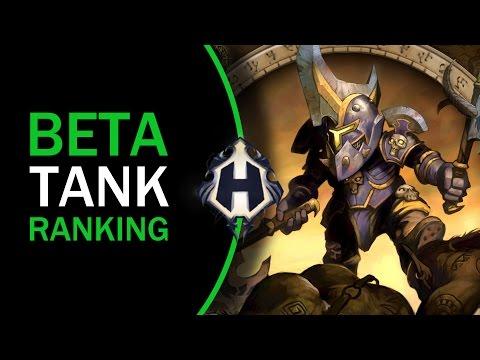 Legion beta | UPDATED TANK RANKINGS