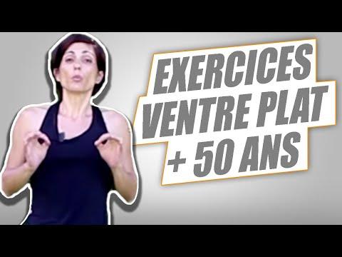 SPÉCIAL VENTRE PLAT FEMMES 50 ANS  :  7 EXERCICES PUISSANTS - REUSSITE FITNESS