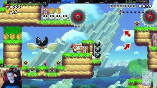 Super Warp World any% speedrun in 20:04 *World Record*